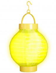 Lanterna luminosa amarela 15 cm