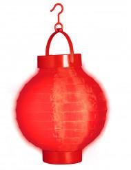 Lanterna luminosa vermelha 15 cm