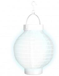 Lanterna luminosa branca 15 cm