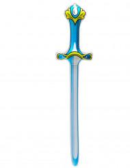 Espada insuflável azul
