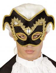 Meia-máscara veneziana adulto