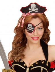 Bandelete e pala sexy de pirata para mulher