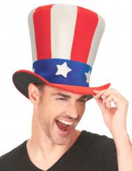 Chapéu alto USA adulto
