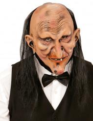 Máscara mordomo aterrorizante adulto