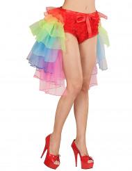 Tutu burlesco colorido mulher