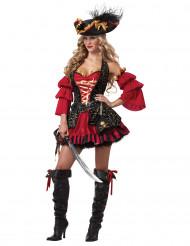 Disfarce pirata Premium - mulher