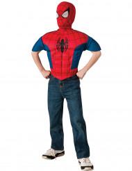 Plastrão e capuz Spiderman™ Ultimate criança