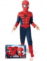 Disfarce luxo 3D EVA Spiderman™ Ultimate criança