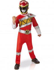 Disfarce luxo Power Rangers™ Dino Charge vermelho criança