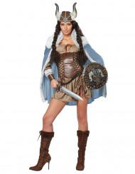 Disfarce de mulher Viking
