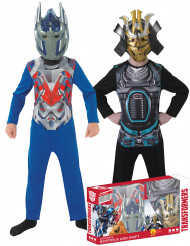 Pack Disfarces clássicos Optimus Prime e Drift™ - Transformers™ Coffret