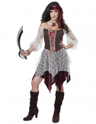 Disfarce pirata corsária sexy - mulher
