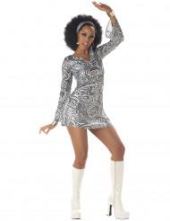Disfarce de Diva do Disco para mulher