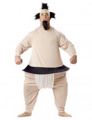 Disfarce lutador de sumo adulto