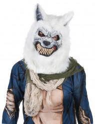 Máscara Lobo Branco