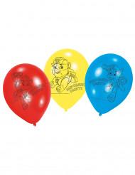 lot de 6 balões em Latex da Patrulha Pata™