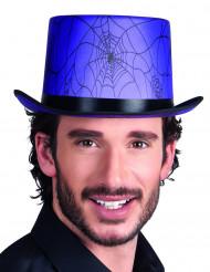 Chapéu alto lilás adulto Halloween