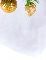 Cobertor de neve de Natal 245 x 38 cm