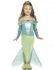 Disfarce de princesa sereia para menina