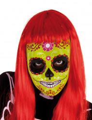 Máscara menina Dia de los Muertos Halloween