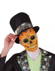 Máscara luxo Dia de los Muertos Halloween