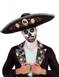 Sombrero adulto Dia de los Muertos Halloween