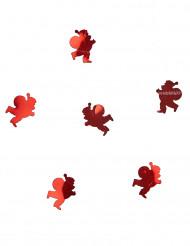 Confetis de mesa Pai Natal vermelhos