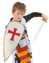 Disfarce de Cavaleiro com acessórios incluidos para Criança