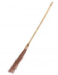 Vassoura de bruxa bambu - 88 cm