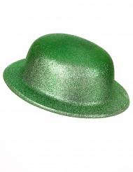 Chapéu oval verde com Lantejoulas Adulto de St.Patrick
