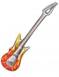 Guitarra Eléctrica insuflável