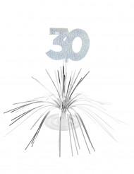 Centro de mesa 30 anos
