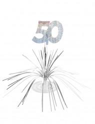 Centro de mesa 50 anos