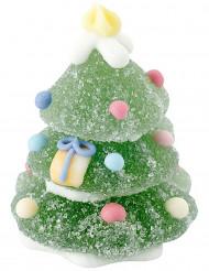 Pinheiro de Natal de açúcar e gelatina