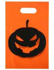 10 Sacos de festa Abóbora Halloween