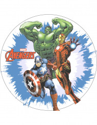 Disco ázimo Avengers™ 20 cm