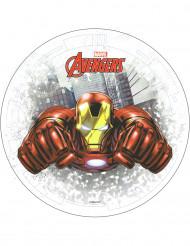 Disco ázimo Iron Man Avengers™ 20 cm