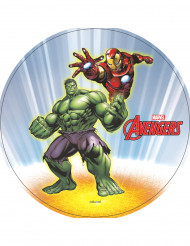 Disco ázimo Hulk e Iron Man Avengers™ 20 cm