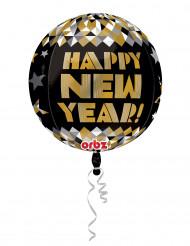 Balão de alumínio dourado Happy New Year