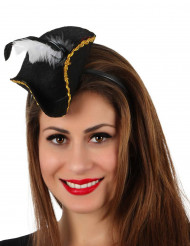 Tiara pirata mini chapéu!