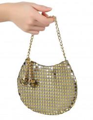 Bolsa Disco dourada