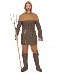 Disfarce homem medieval