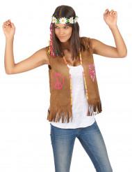 Colete hippie para mulher