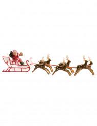 Decoração trenó do Pai Natal