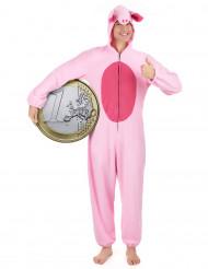 Disfarce de porquinho para mulher