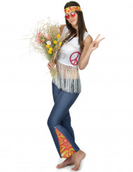 Disfarce de hippie para mulher