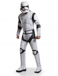 Disfarce de luxo StormTropper branco para adulto - Star Wars VII™