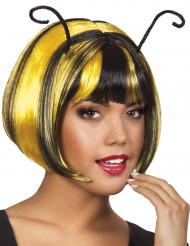 Peruca curta de abelha para mulher