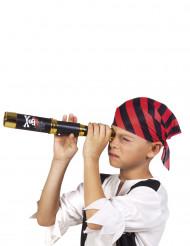 Telescópio de pirata preto 32cm