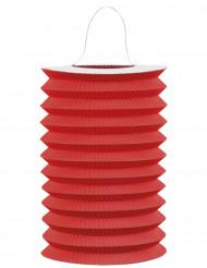 Lanterna de papel vermelha